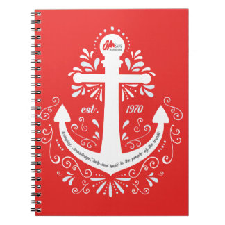 KHH Anchor Red Notebook
