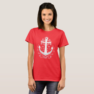 KHH Anchor Red Tshirt