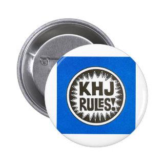 KHJ Rules 6 Cm Round Badge