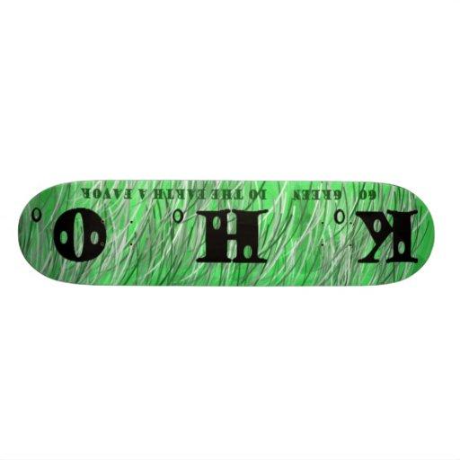 KHO Greenboard Skate Board Deck