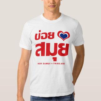 Khoi Huk (I Heart / Love) Koh Samui ❤ Thailand Shirts