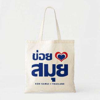 Khoi Huk (I Heart / Love) Koh Samui ❤ Thailand Tote Bag