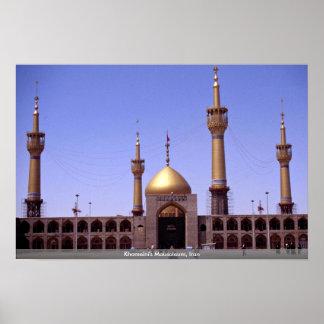 Khomeini's Mausoleum, Iran Poster