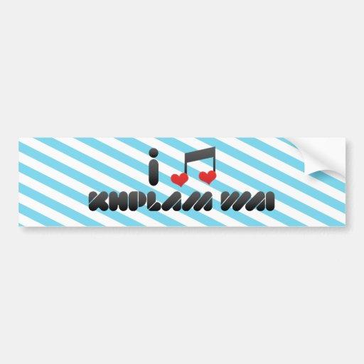 Khplam Wai fan Bumper Sticker