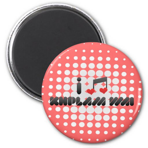 Khplam Wai fan Fridge Magnets