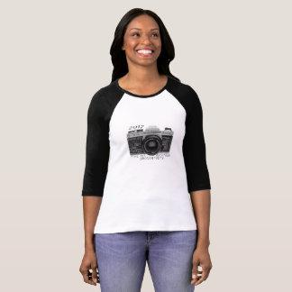 KHS Darkroom Photography 3/4 sleeve t-shirt