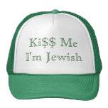 Ki$$ Me I'm Jewish Mesh Hats