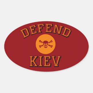 Ki Oval Sticker