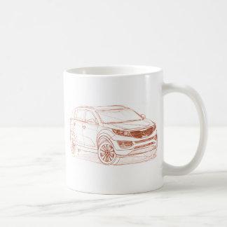 Kia Sportage 2011 Coffee Mug