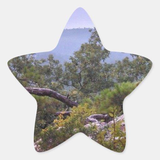 Kiamichi Valley Oklahoma Star Stickers