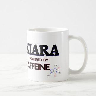 Kiara powered by caffeine coffee mug
