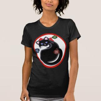 Kiara Toon Kitty Holiday Ornaments Shirt Dark