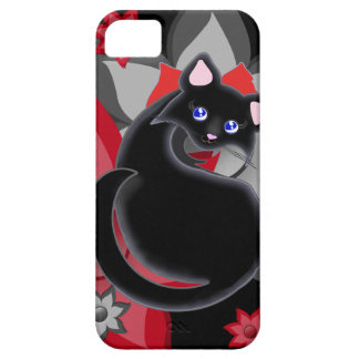 KIara Toon Kitty Petal Flowers Case Case For The iPhone 5