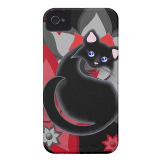 KIara Toon Kitty Petal Flowers Case iPhone 4 Case