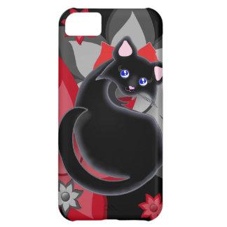 KIara Toon Kitty Petal Flowers Case iPhone 5C Case