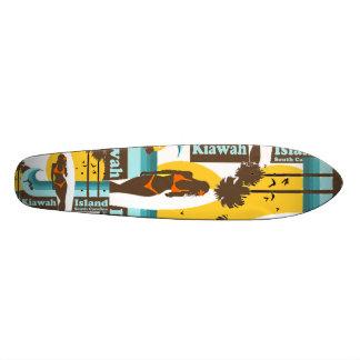 Kiawah Island. 20 Cm Skateboard Deck