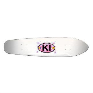 Kiawah Island. 21.3 Cm Mini Skateboard Deck