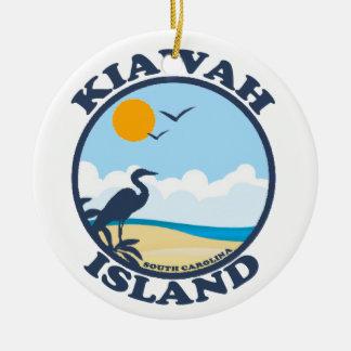 Kiawah Island. Christmas Ornament