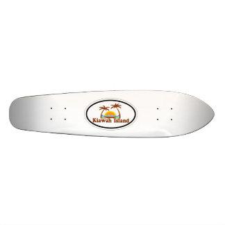 Kiawah Island. Custom Skateboard