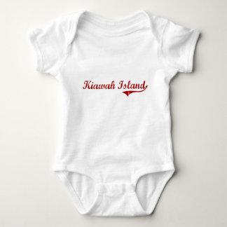 Kiawah Island South Carolina Classic Design Baby Bodysuit