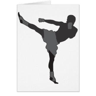 Kick Boxer Card