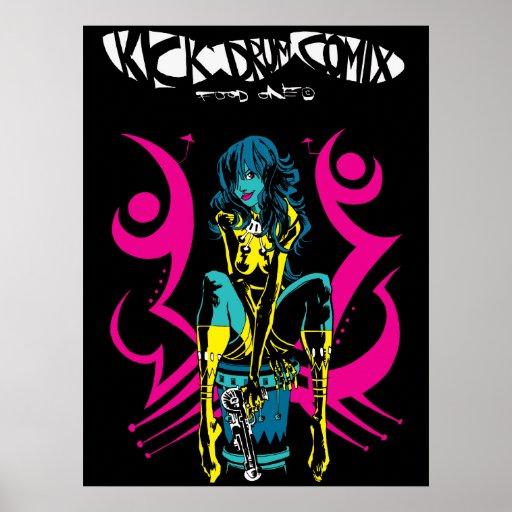 Kick Drum Two Print/Poster Poster