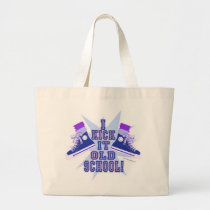 Kick it Old School Large Tote Bag