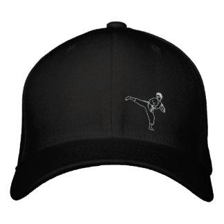 Kick Kung Fu Karate Hat Martial Arts MMA Cap Embroidered Baseball Cap