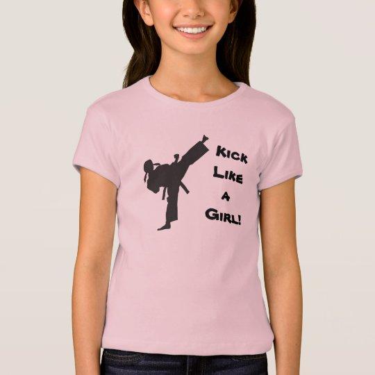 Kick Like a Girl Martial Arts Tae Kwon