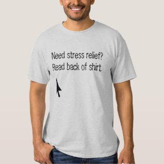 Kick Me.  Stress relief t-shirt