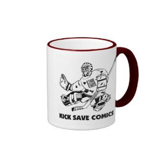 Kick Save Comics Mug