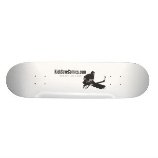 Kick Save Comics Skateboard