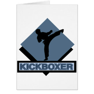 Kickboxer blue diamond card