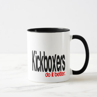 Kickboxers Do It Better Mug