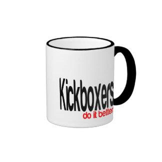 Kickboxers Do It Better Ringer Mug