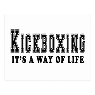 kickboxing It's way of life Post Card