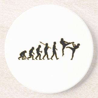 Kickboxing Sandstone Coaster