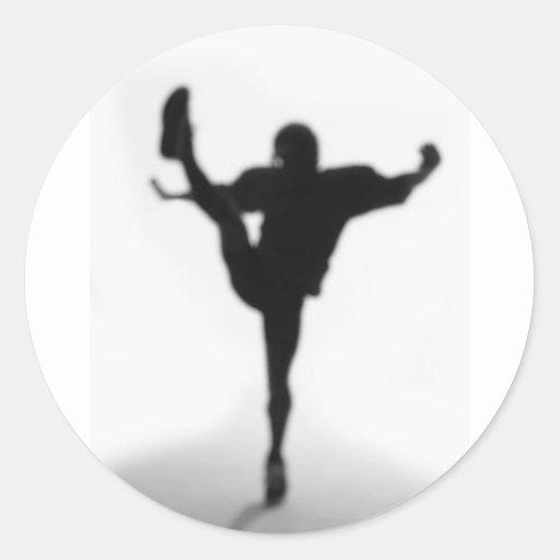 Kicker Round Sticker