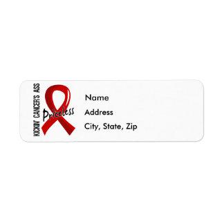 Kicking Ass Priceless Blood Cancer Return Address Label