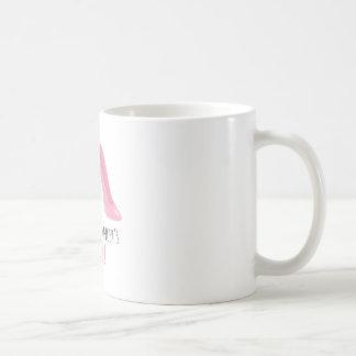 Kicking Cancer Basic White Mug