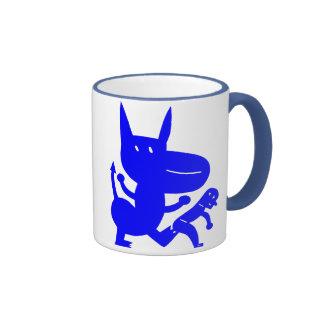 Kicks Ringer Mug