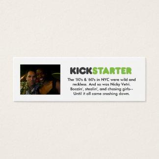 Kickstarter Cards
