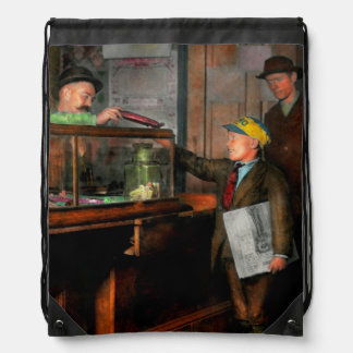 Kid - A visit to the candy store 1910 Backpacks