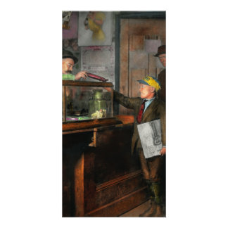 Kid - A visit to the candy store 1910 Photo Cards