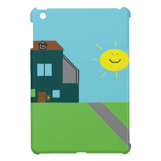 Kid Art - House Sky & Sunshine iPad Mini Case