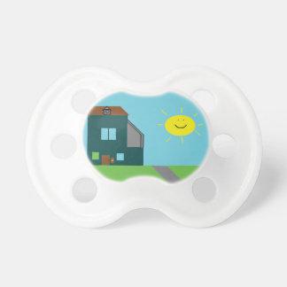Kid Art - House Sky & Sunshine Pacifiers