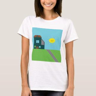 Kid Art - House Sky & Sunshine T-Shirt