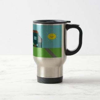 Kid Art - House Sky & Sunshine Travel Mug