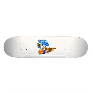 Kid Baby Dragon Custom Skateboard