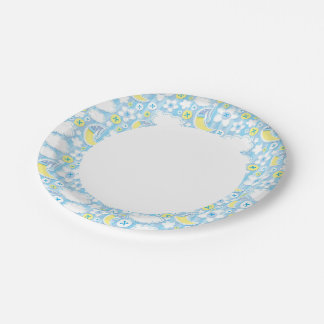kid background paper plate
